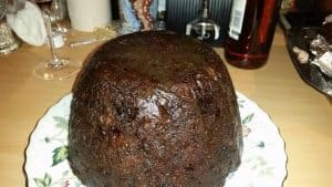 Vanessa and Gill's Instant Pot Pressure Cooker Christmas Pudding - a traditional British Christmas Pudding served on Christmas Day
