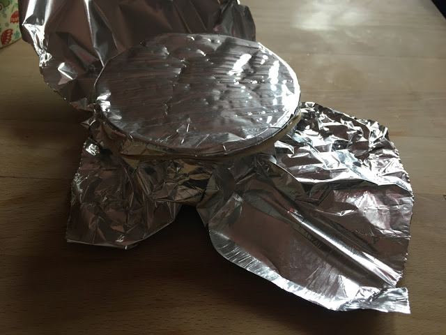 Instant Pot Flan de Huevo / Creme Caramel by Feisty Tapas - step 6 cover with foil