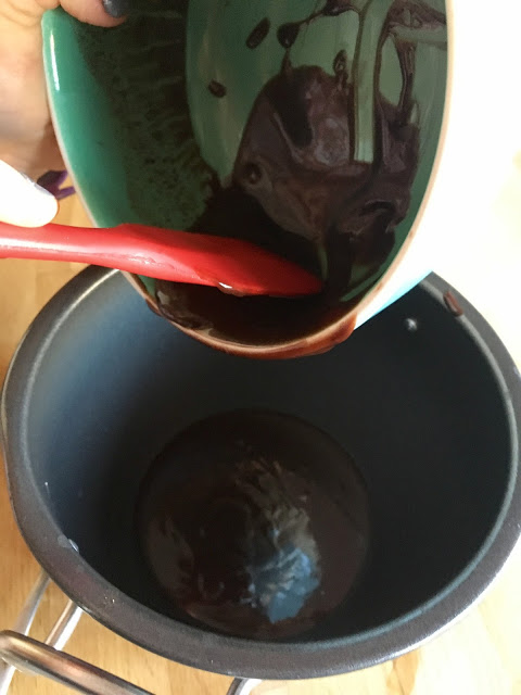 Instant Pot Gooey Chocolate Pudding recipe by Feisty Tapas