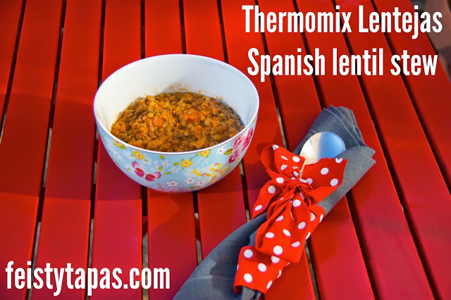 Thermomix Lentejas, Spanish Lentil Stew