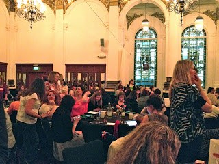 Cybher all female blogger conference London 2012 8 Northumberland Road
