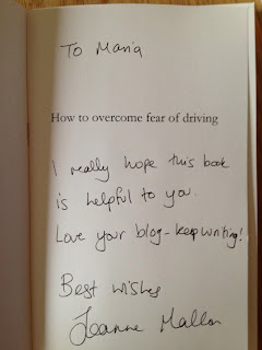 Joanne Mallon's How to overcome fear of driving helped me