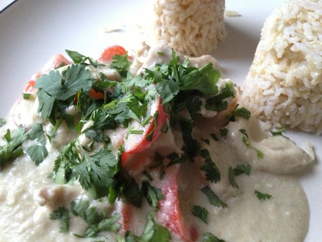 Thermomix: Quick Thai green chicken curry recipe / Receta rápida de pollo al curry verde tailandés TM31 / Bimby