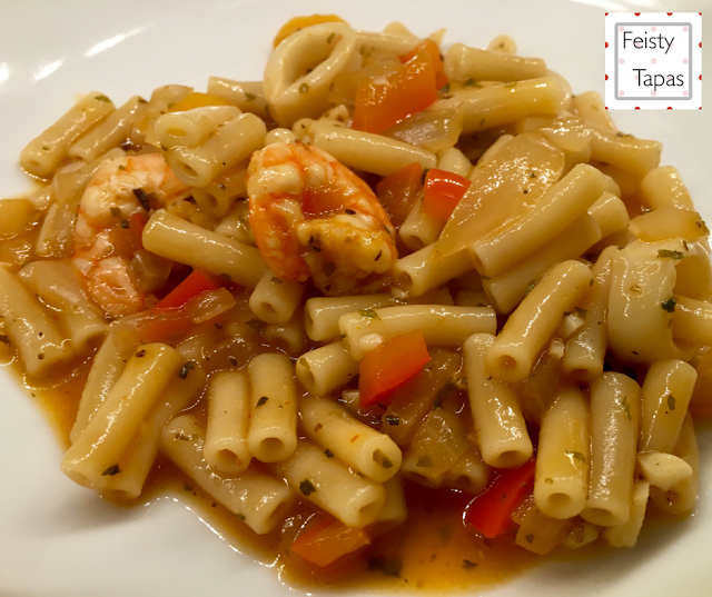 Pressure Cooker Seafood Pasta (with Instant Pot instructions)