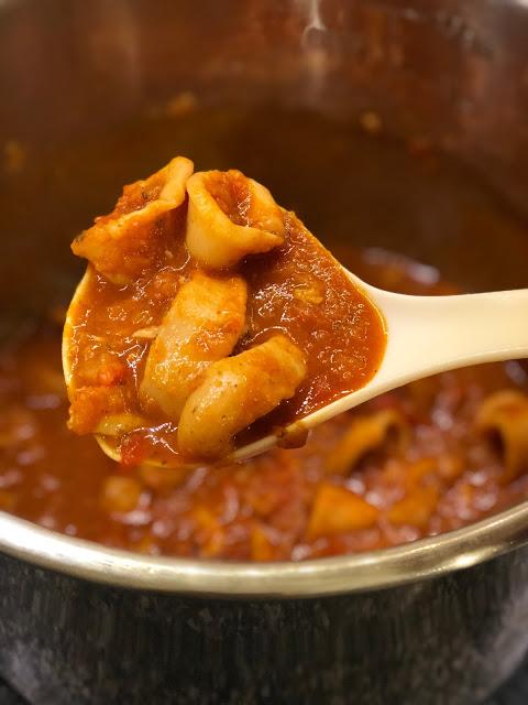 Instant Pot Squid Stew