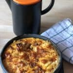 Really Easy Instant Pot Chorizo Frittata recipe by Feisty Tapas. Delicious for breakfast, lunch or a picnic
