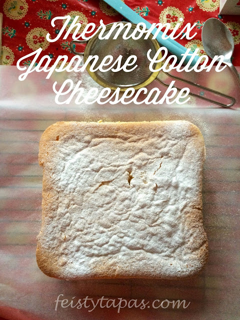 Thermomix Japanese Cotton Cheesecake