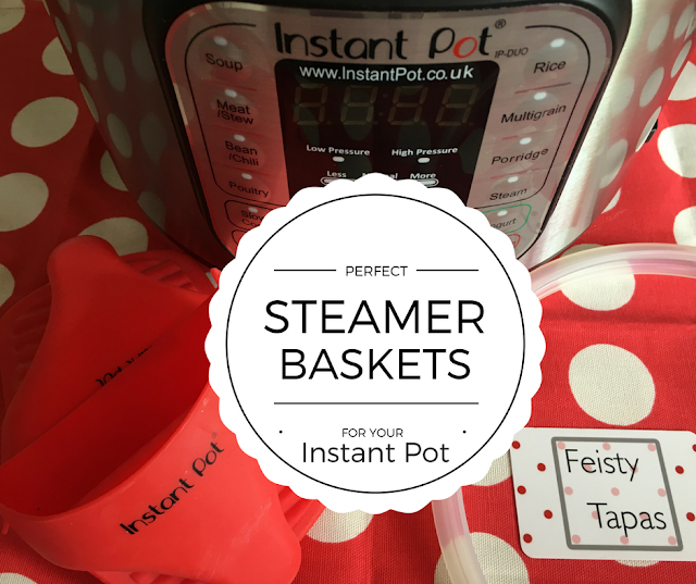 Perfect steamer baskets for your Instant Pot