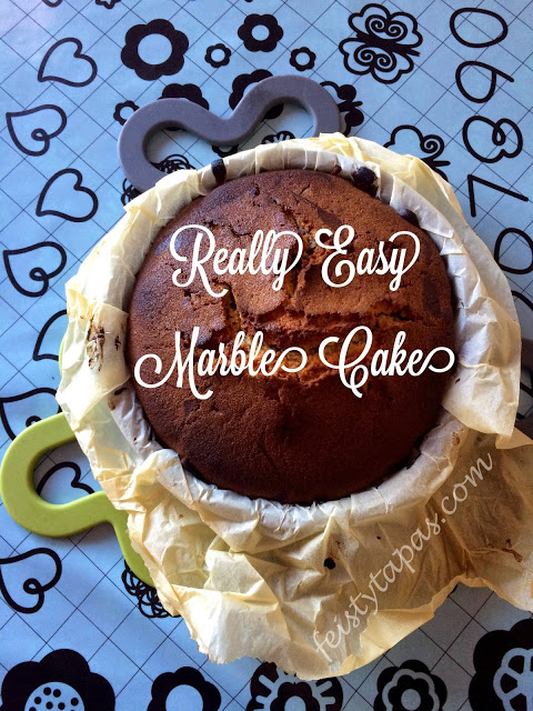 Really easy marble cake recipe