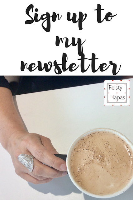 Sign up to my newsletter, click here