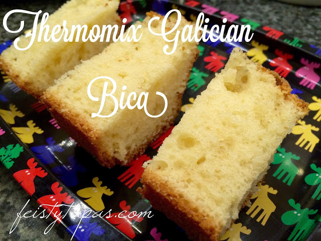 Thermomix Bica (typical cake from Galicia, Spain)
