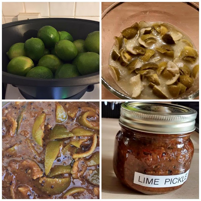 Lime Pickle preserved in Kilner Jars and made with a Forking Foodie recipe