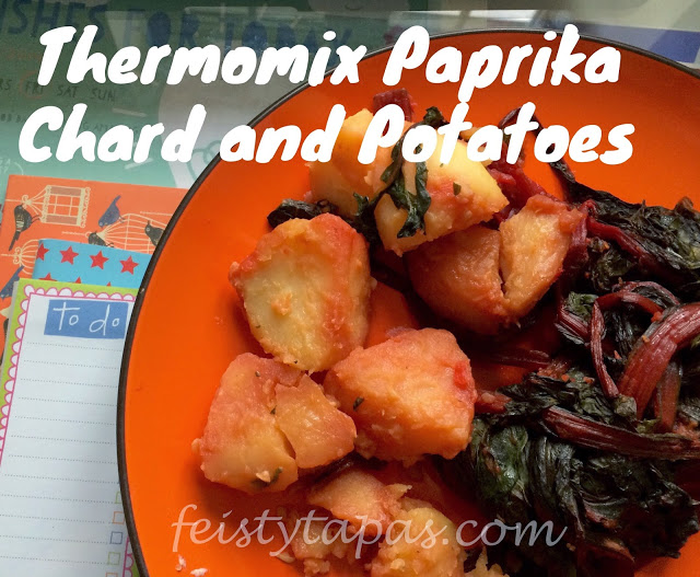 Thermomix Paprika Chard and Potatoes