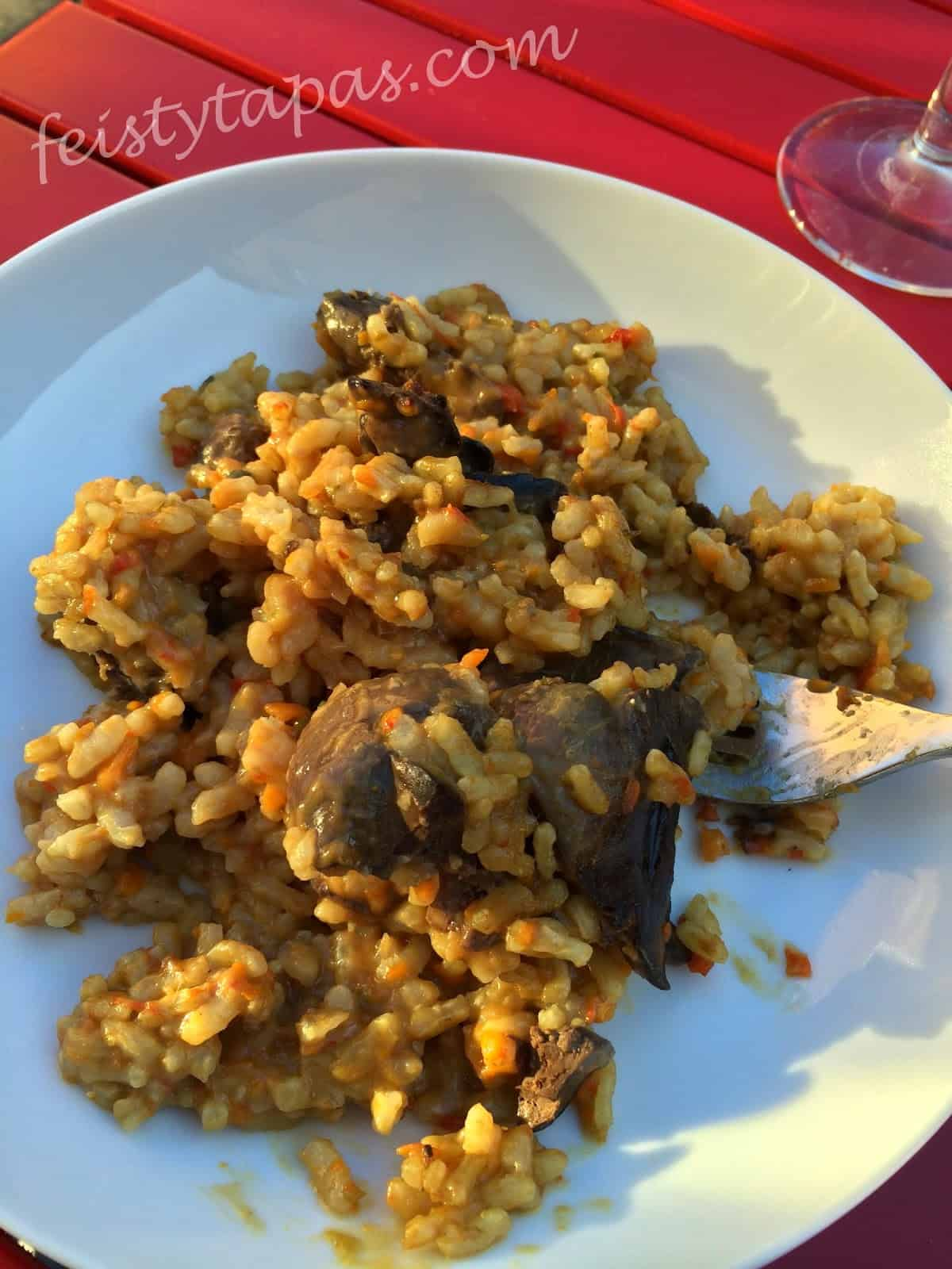 Thermomix Chicken Liver Rice