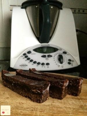 Sweet Natured Kitchen's Thermomix Chocolate Sandwich Slice