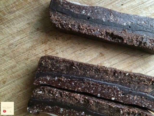 Sweet Natured Kitchen's Thermomix Chocolate Sandwich Slice