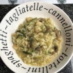 Instant Pot Prawn, Courgette and Mushroom Risotto