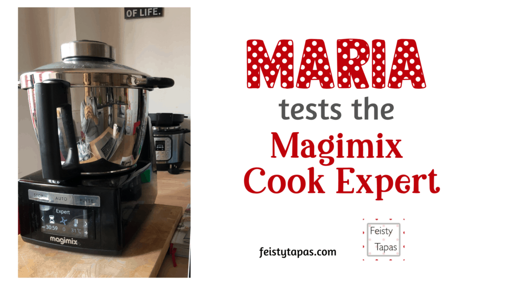 Magimix Cook Expert review UK - Feisty Tapas - with video