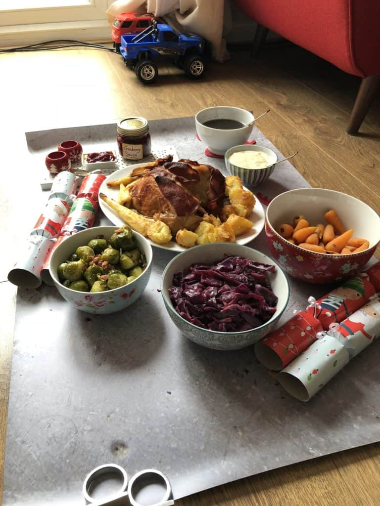 Behind the scenes photos of of how the best Instant Pot recipes were photographed for the An Instant Pot Christmas - An Instant Pot UK ebook