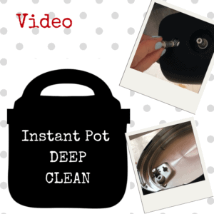 Instant Pot Deep Clean video by Feisty Tapas - featured image