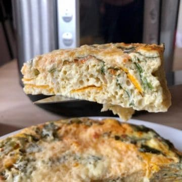 Instant Pot Chard and sweet potato frittata recipe by Feisty Tapas