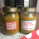 Instant Pot Vegetable Stock Paste Concentrate recipe by Feisty Tapas