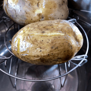 Instant Pot Crisp Jacket potatoes