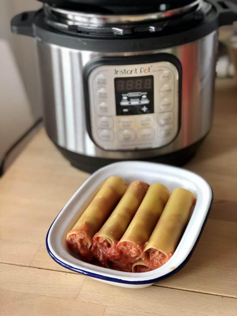 Instant Pot Tuna Cannelloni - a delicious and super easy all-in-one dish