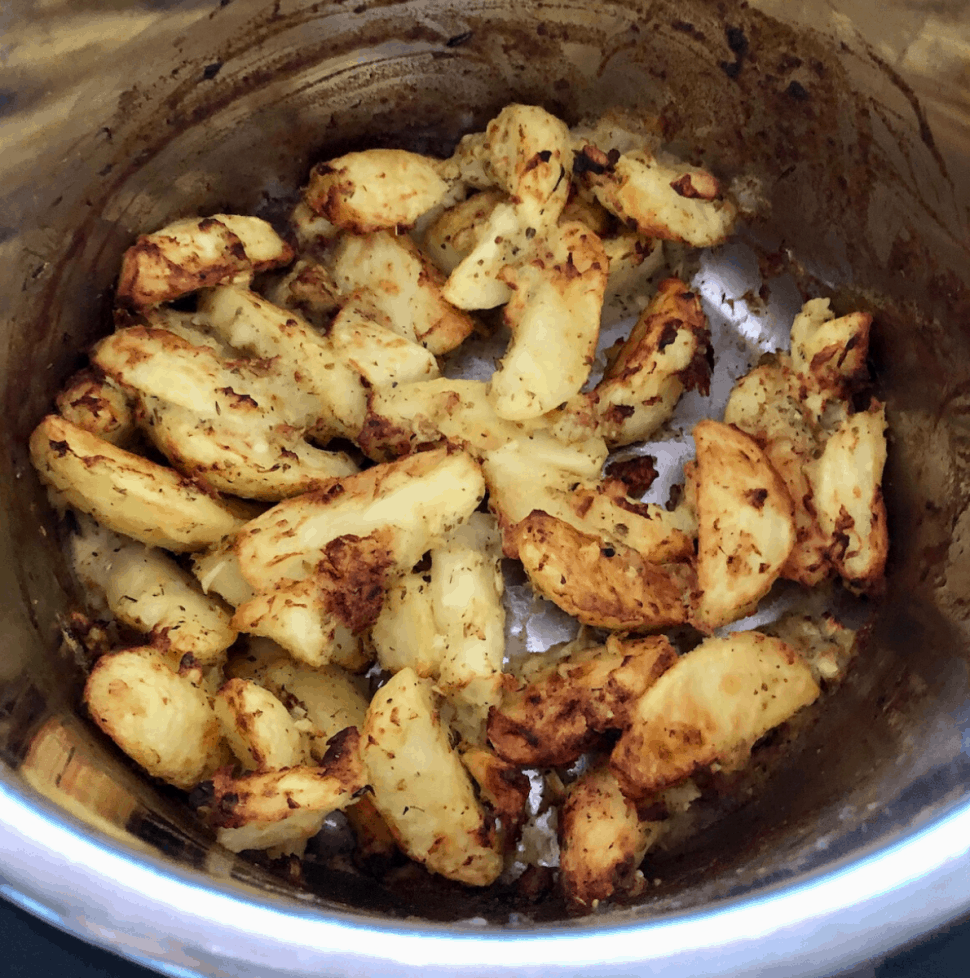 Instant Pot Roast Greek Potatoes