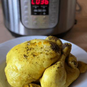 Instant Pot Zero Minute Chicken