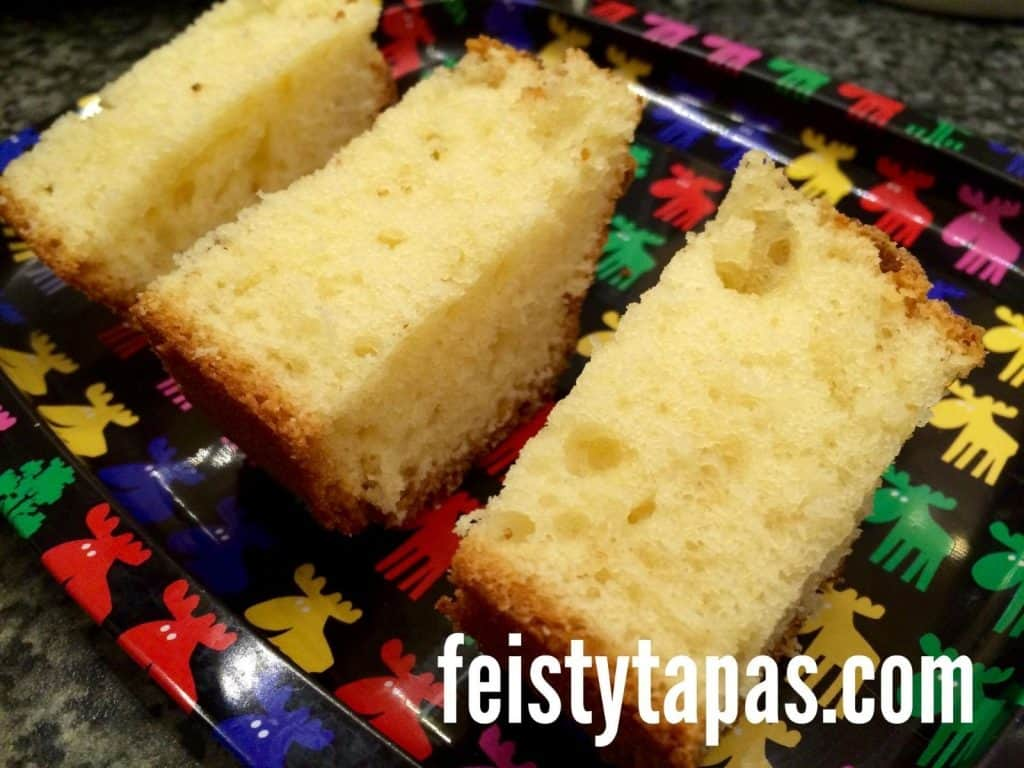 Thermomix Bica (traditional cake from Galicia, Spain)