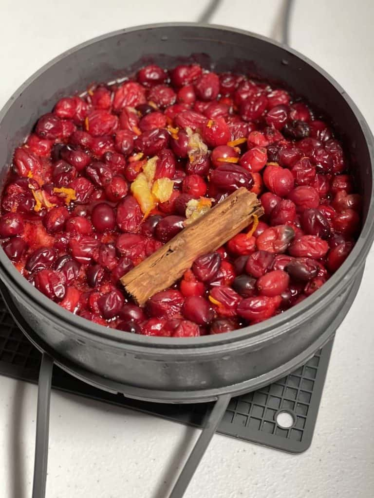 How to pressure cook Cranberry Sauce (with Instant Pot instructions)