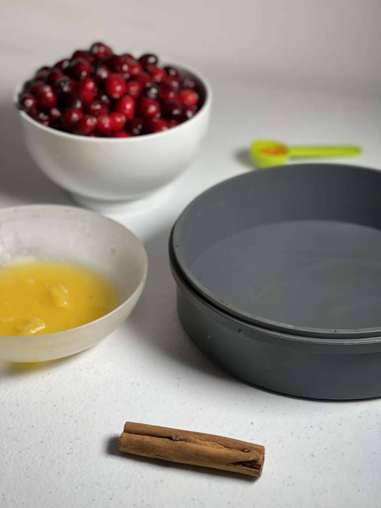 How to pressure cook Cranberry Sauce (with Instant Pot instructions) - ingredients