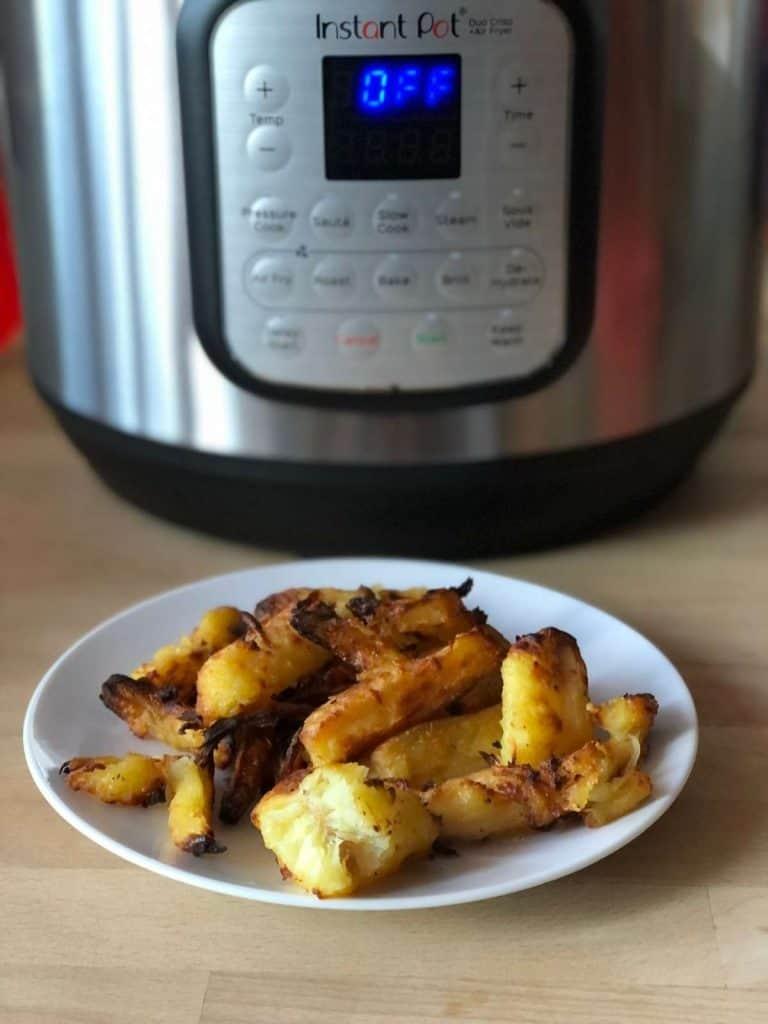 Instant Pot Duo Crisp Roasted Parsnips