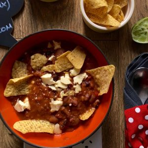 Julie's Thermomix Mexican Bean Soup