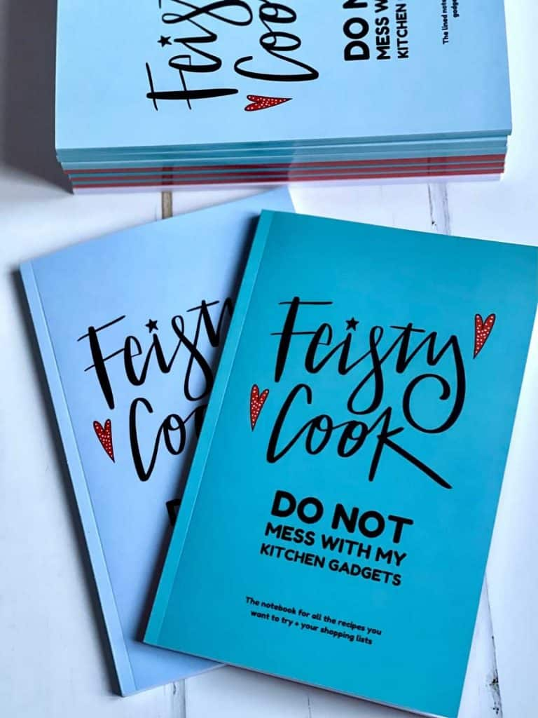 Feisty Tapas Notebooks - Feisty Cook Do not mess with my Kitchen Gadgets