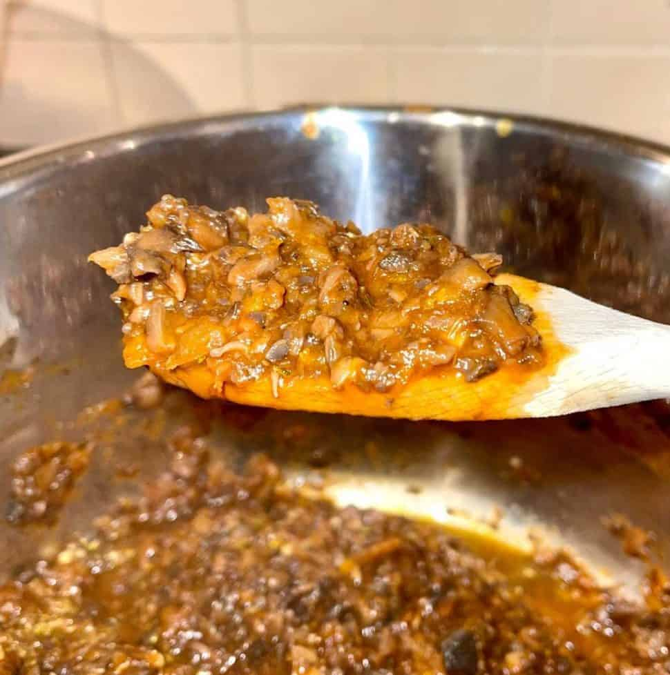 Instant Pot Mushroom Bolognese