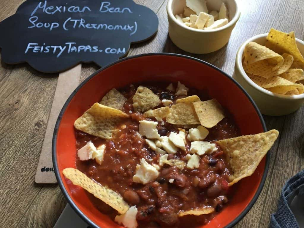 Julie's Mexican Bean Soup in the Thermomix