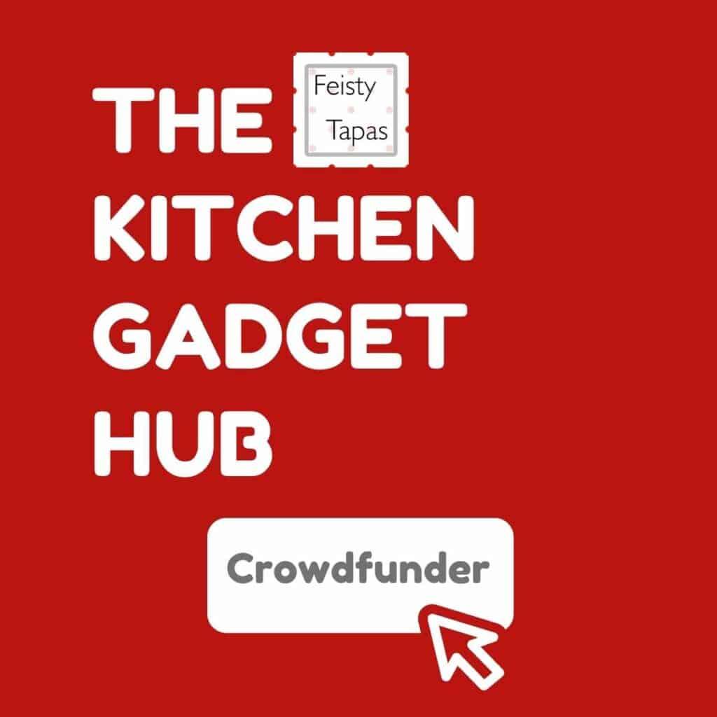 The Kitchen Gadget Hub Crowdfunder button