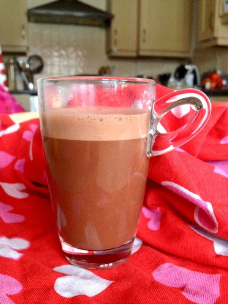 Thermomix Spiced Hot Chocolate with Oat Milk